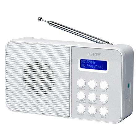 Denver DAB+ & FM-radio Vit