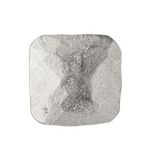 Dana Knopp 2,5 x 2,5 cm - Sølv
