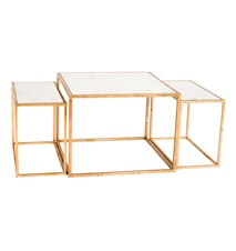 Three Set Table gold