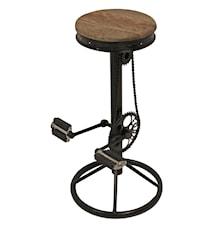 Industry barstol med pedaler