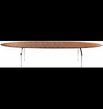 Unique matbord - Valnötsfanér