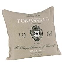 Portobello Kuddfodral + innerkudde