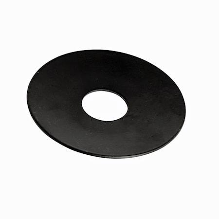 Ljusmanschett ljuskrona rund svart