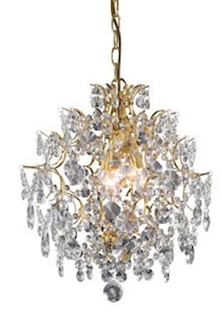Markslöjd Rosendal Taklampa 3 Ljus Guld