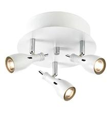Lammhult taglampe 3 Lys hvid