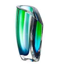 Mirage Grön/Blå Vas 21 cm