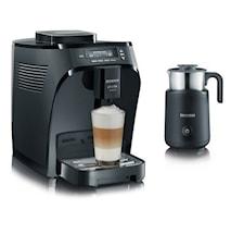 "Kaffemaskin Piccola ""Induzio""+ Mjölkskummare"