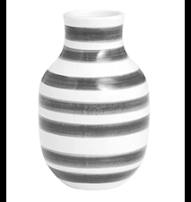 Omaggio vas Granitgrå H 12,5 cm