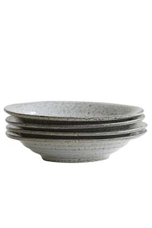 Suppeskål Rustic Grå/Blå D:25 cm