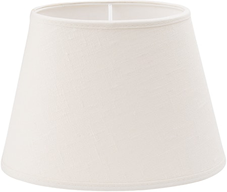 PR Home Oval Lampskärm Lin Offwhite 43,5 cm