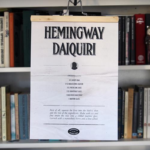 Hemingway Daiquiri poster