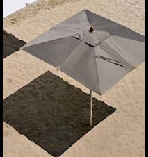 Free rektangel 3x2 parasoll - Grå