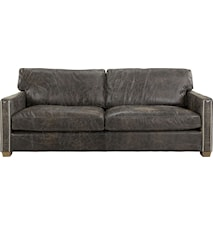 Viscount soffa - 3-sits, Leather fudge