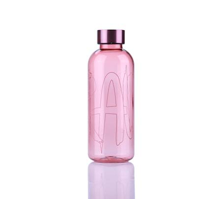 Raw Vattenflaska 0,65 L Ljusröd