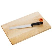 FF Set med brödkniv och skärbräda