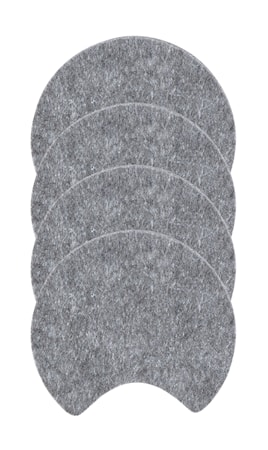 Zone Denmark Lasinalunen Huopa Harmaa 10 cm 4-pack