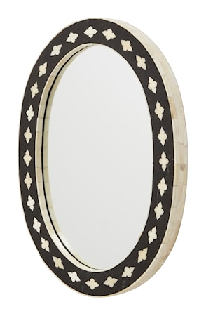 Bone mirror - oval