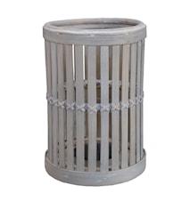 Cage lykta 20x30 cm Bambu