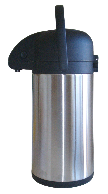 Rostfri pumptermos 2,2 L