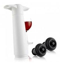Wine saver presentförpackning vit