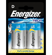 Batteri Energizer HighTech LR2 0/D, 1,5 V, 2 stk