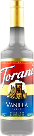 Torani Vanilla syrup 375 ml