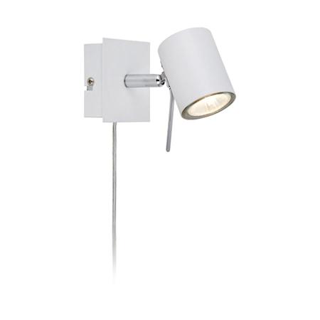 Bild av Markslöjd Hyssna LED Vägglampa Vit