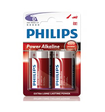 Fashion Power Alkaline D LR20 2-pack