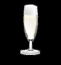 Royal Champagneglas klar 25 cl 1 st.