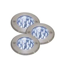 Andros 3-Kit utespotlights