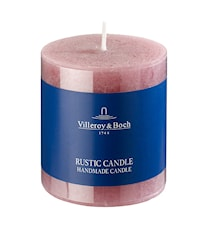 Ess. New Candles Rustic Stearinljus Lila 7x7,5