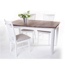 Toledo matbord + 4 stolar