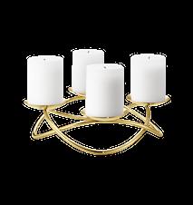 Maria Berntsen Season Grand kynttilänjalka Kulta