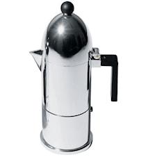 La Cupola Espressobrygger Svart 3 kopper