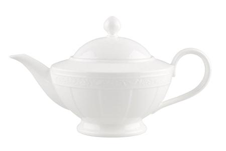Villeroy & Boch White Pearl Teekannu 6 hlö 1,40l