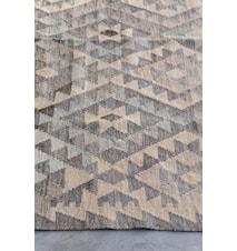 Kelim handvävd matta – Ljus