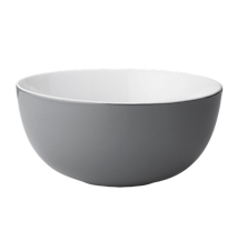 Emma skål, stor - grå
