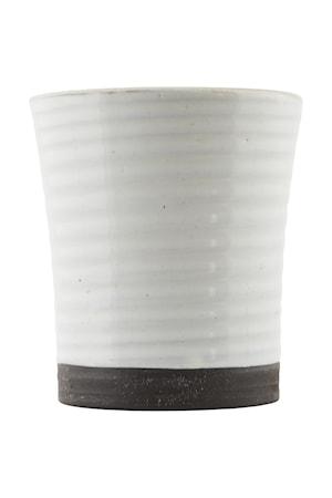 House Doctor Muki 3 Ø 8×9 cm – Valkoinen