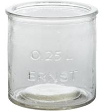 Glasburk/lygte 0,25L ERNST