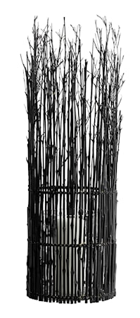 MUUBS Fishtrap Large Lykta Bambu 65x20 cm - Svart