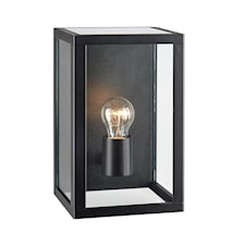 Pelham Vägglampa Black/Clear