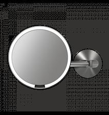 Väggmonterad Sensorstyrd Make-up spegel med TRU-LUX LED-ljus för Elinstallation