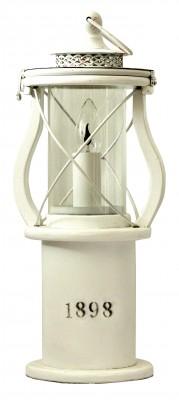 1898 Table Lamp White