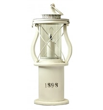 1898 Bordlampe White