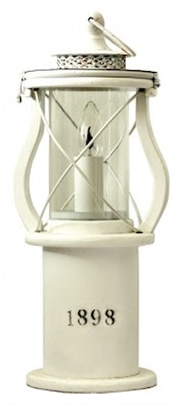 1898 Table Lamp White