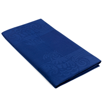 Duk, Birds, blå, 150x350 cm