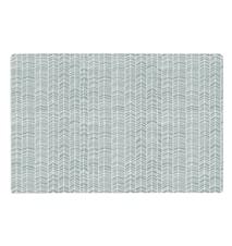 Zentangle Tablett Vit/Grå 44x28,5 cm