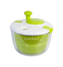 Salaattilinko Iso 4 litraa Vihreä/Valkoinen