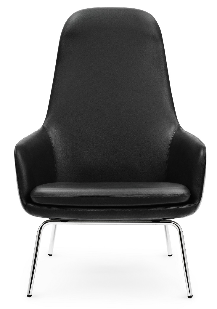 Era Lounge Chair High - Krom