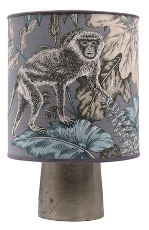 Bordslampa Icon Inklusive Monkey Blå